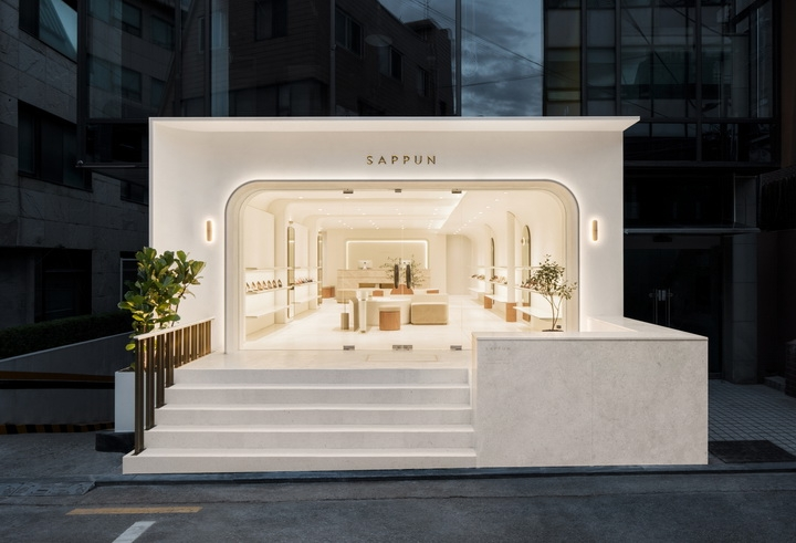 Sappun Flagship Store in Seoul by LABOTORY