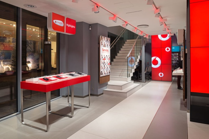 Vodafone flagship store Cologne
