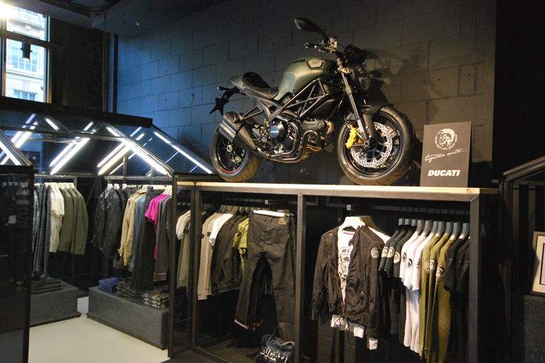 diesel village pop-up concept store