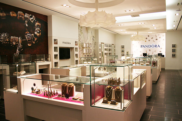 Pandora jewellery boutique, opend a new location in SoHo New York
