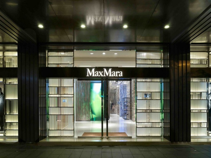 Max Mara boutique in hong kong, by Duccio Grassi Architects