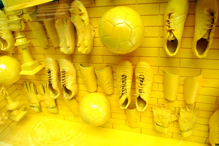 "Nike ""Made to Create"" shop windows in Rio"