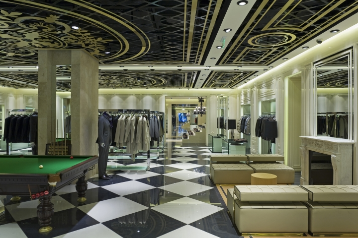 Vakko shop design in Istinye Shopping Mall