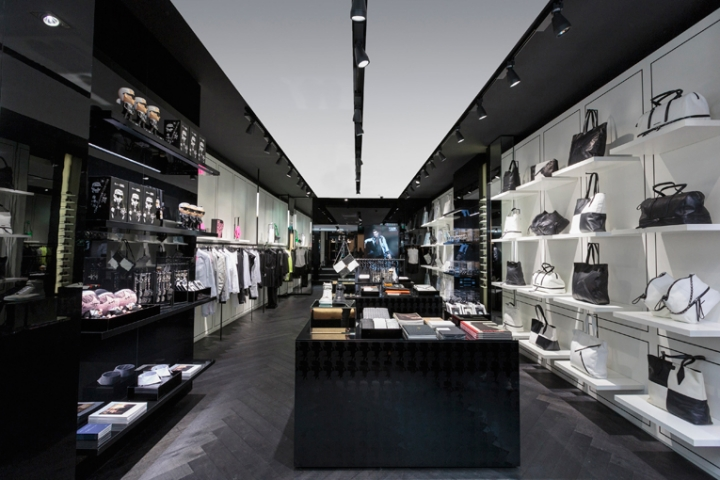 karl lagerfeld concept store opening Amsterdam