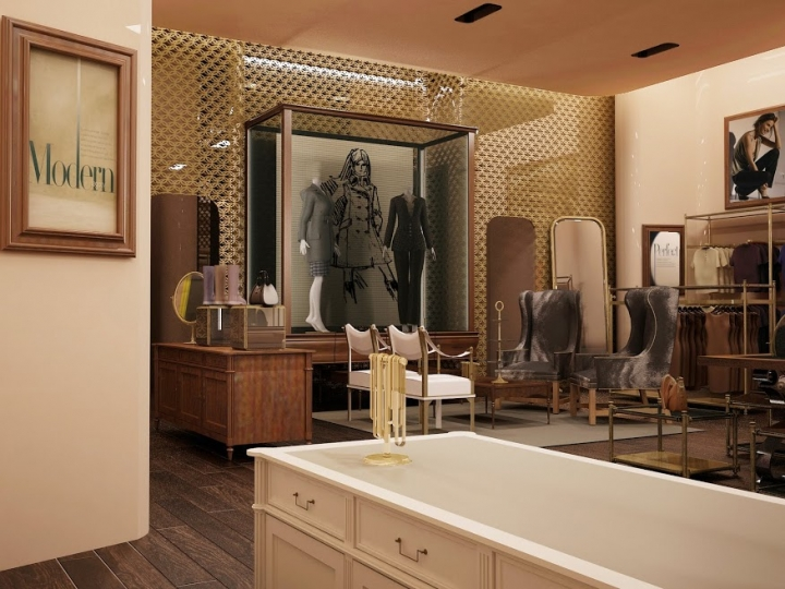 Ann Taylor store interior design by Incorporated