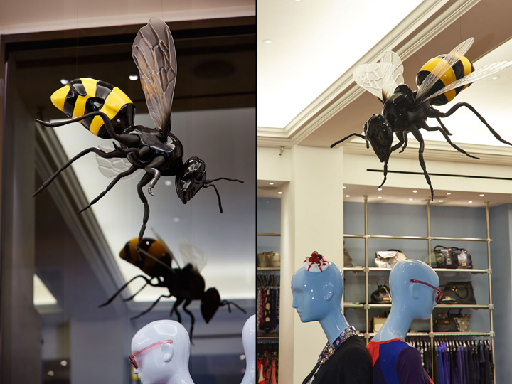 Marc By Marc Jacobs- giant bees & ants