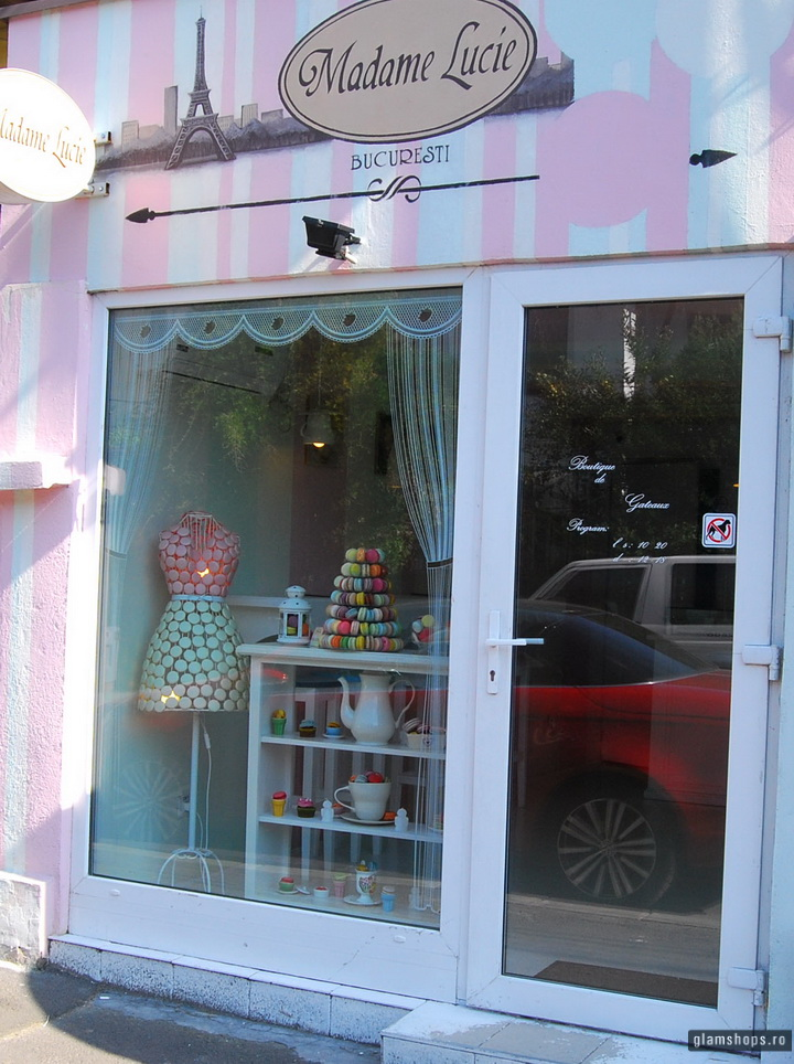 Madame Lucie Boutique de Gateaux - macarons shop in Bucharest