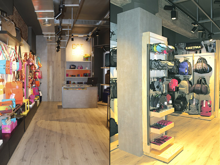 Catbag store by AM Asociados, Barcelona – Spain