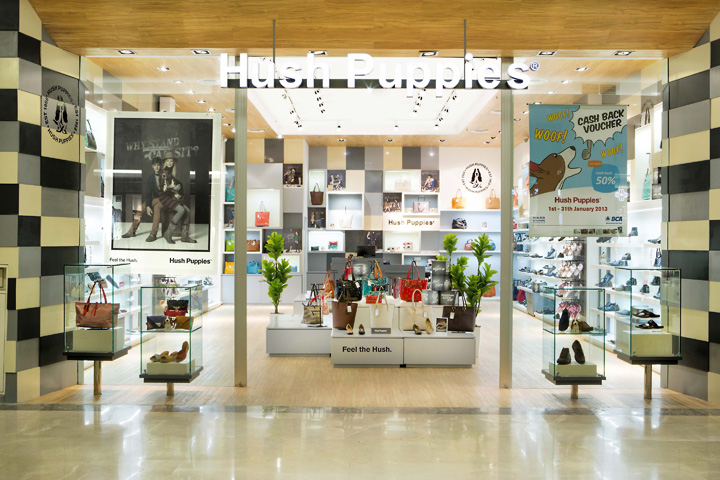 Hush Puppies store by ACRD, Jakarta