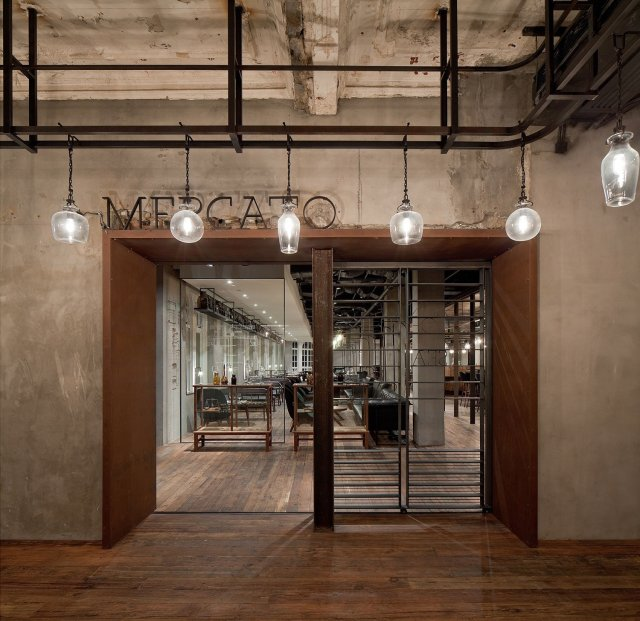Mercato Restaurant by Neri&Hu in Shanghai, China
