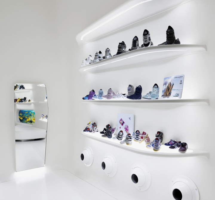 Mini Munich kid store concept by Dear Design