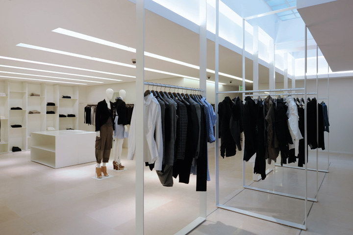Joseph Avenue Montaigne shop by Raed Abillama Architects, Paris