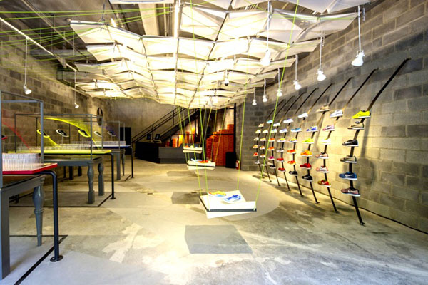 Nike Concept Store Made Out Of Trash