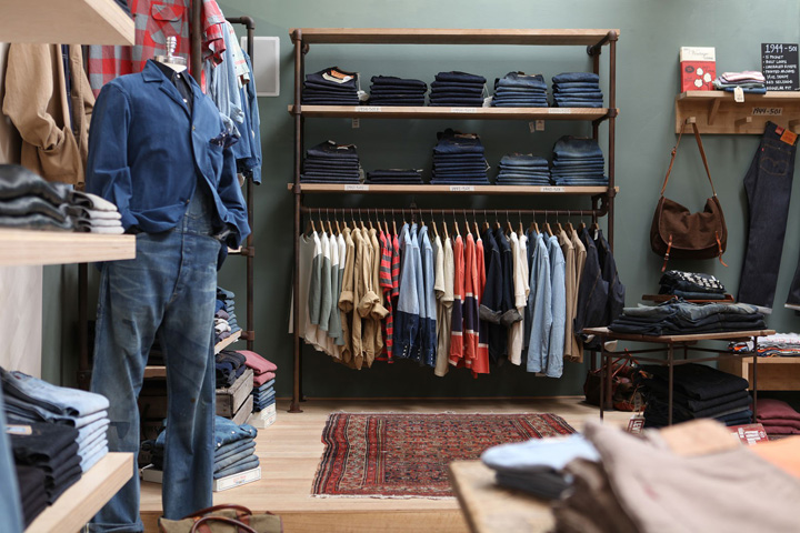 Levi's XX store by WoodSmithe, Santa Monica – California