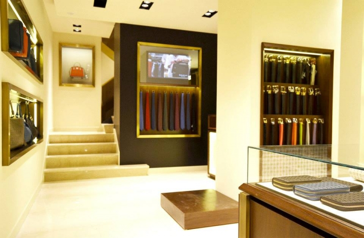 Serapian Milano boutique by Laboratorio 83, Rome – Italy