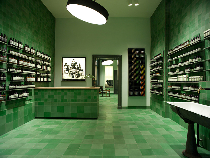 Aesop store by Weiss–heiten, Berlin – Germany