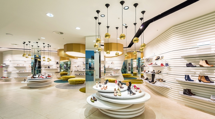 Harvey Nichols' new luxury shoe department