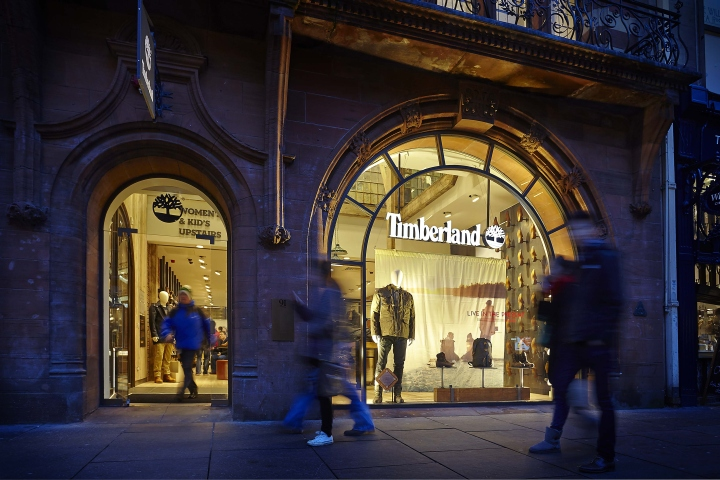 Timberland flagship store by  Green Room