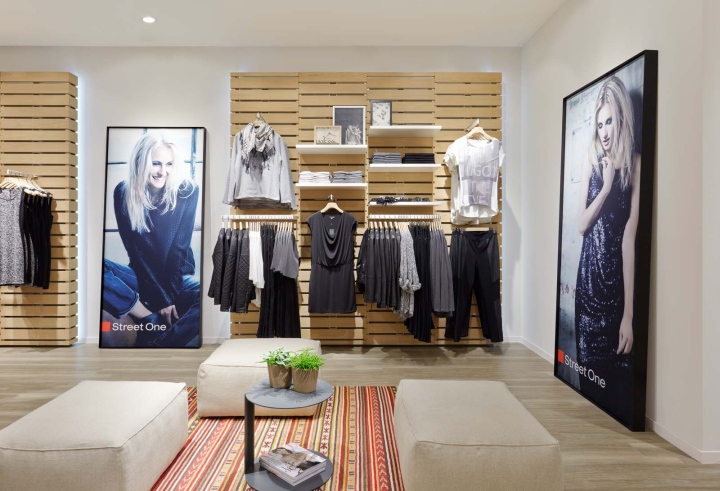 Street One fashion store by project ARC & Ansorg