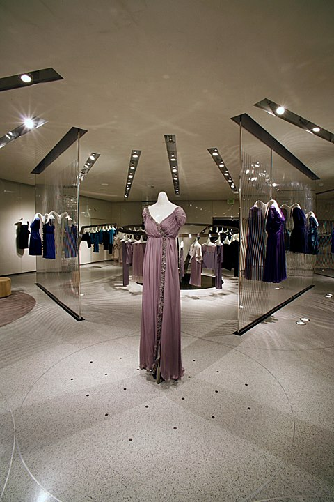 Alberta Ferretti stores design by Sybarites Architects