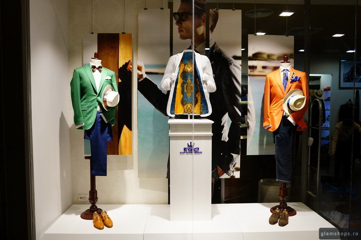 Ego Men`s Fashion Concept - windows display by Glamshops
