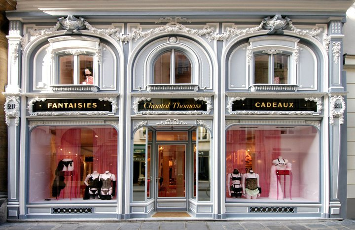 Chantal Thomass lingerie store design