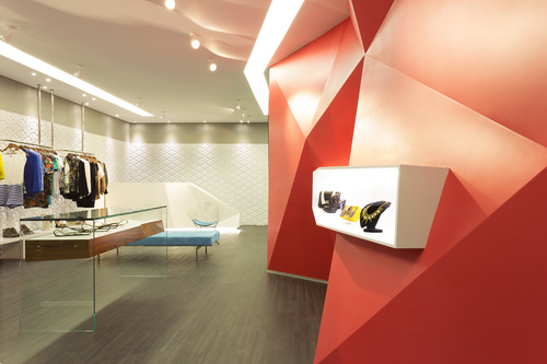 Las Chicas Boutique in Belo Horizonte, designed by Guiv Architecture