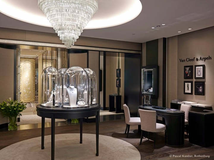 Van Cleef & Arpels luxury boutique in Zurich