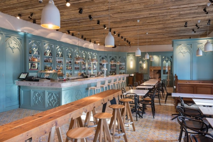 Boema restaurant bar by Corvin Cristian