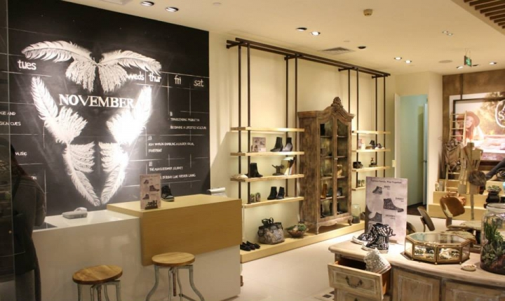 Ash Footwear in Shanghai China