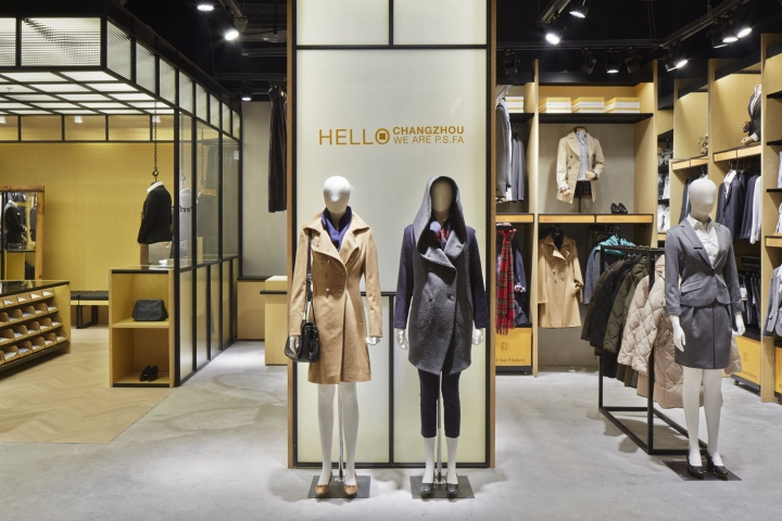 P.S.FA concept shop by Tomo Yamakawa Design, Changzhou – China