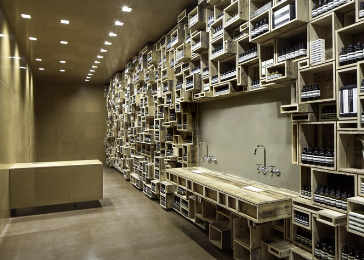 Aesop store in San Francisco by Nadaaa architects