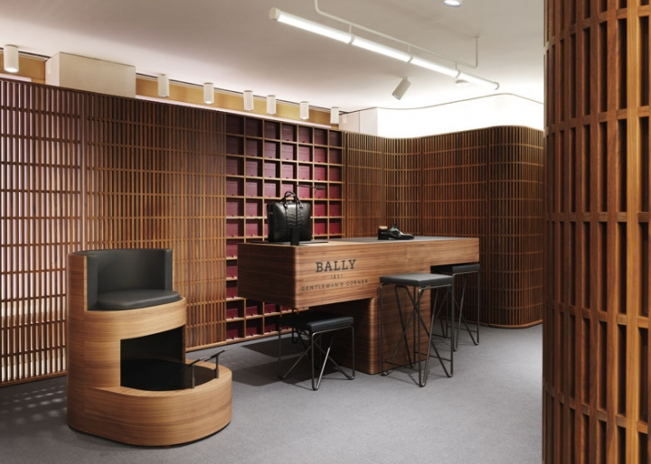 Bally London flagship boutique by David Chipperfield