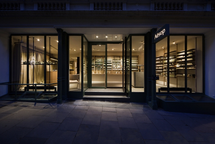 Aesop Hamburg by vincent van duysen architects