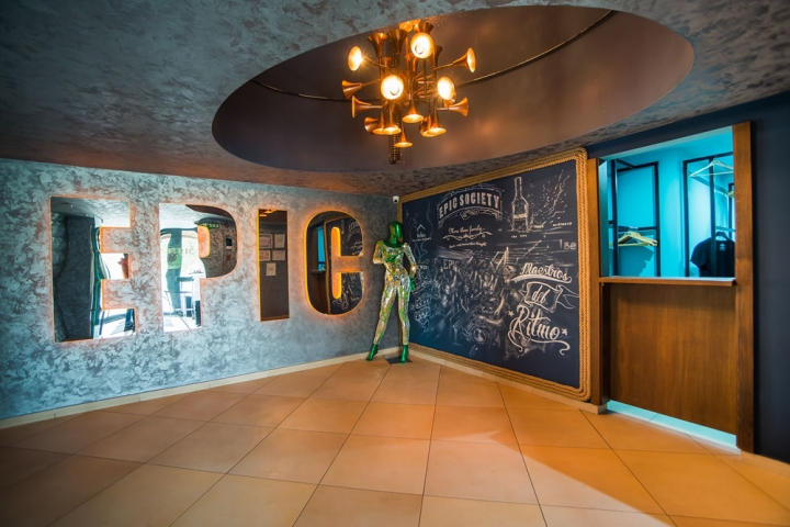 Epic Society club design in Timisoara by Alexandra Avram