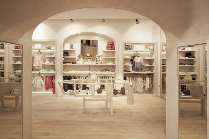Babyluxury store by IO Studio, Prague