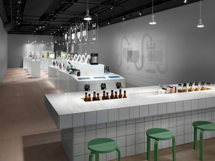 Spritmuseum Beer exhibition by Form Us With Love