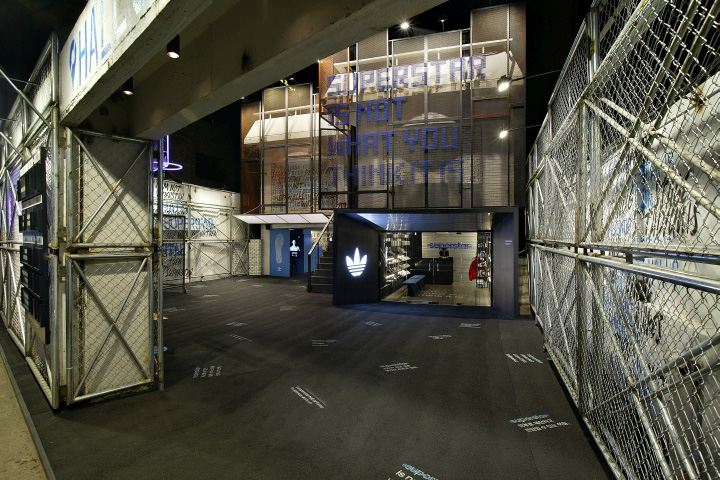 adidas SUPERSTAR | Hall of Fame Pop-up Store by URBANTAINER
