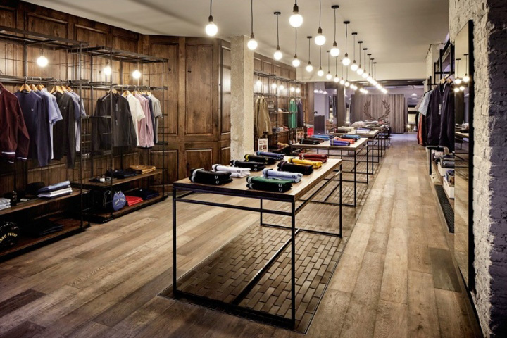 Fred Perry Flagship Store by Buckley Gray Yeoman