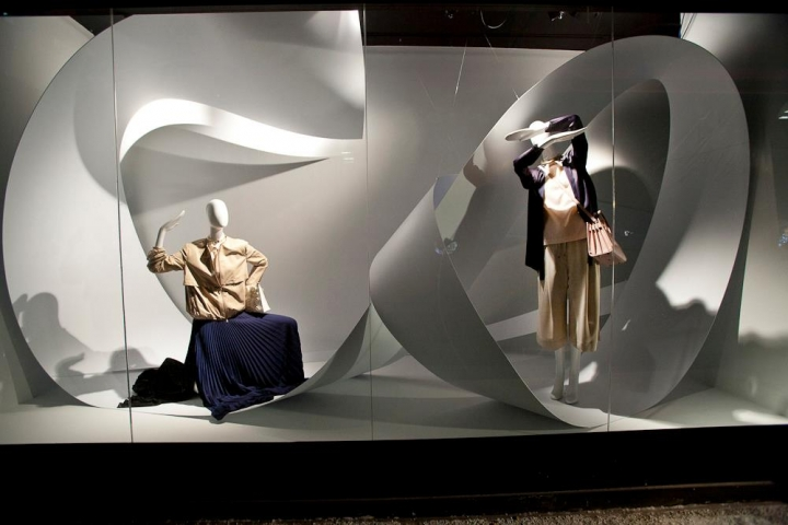 Holt Renfrew spring 2015 Windows display