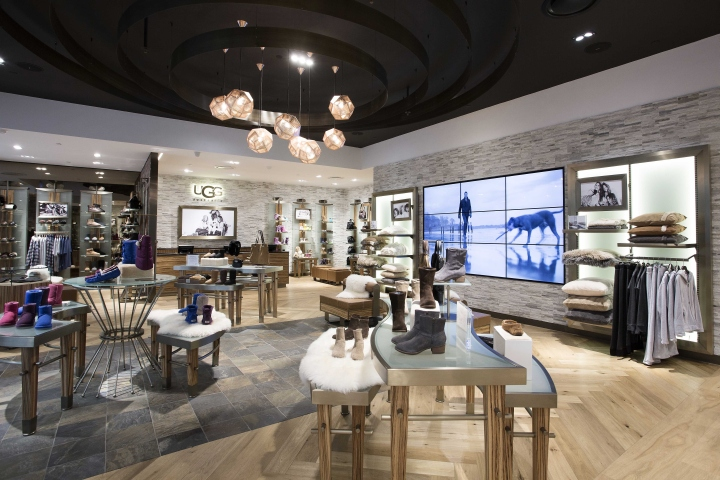 Ugg Australia flagship store by CoMa, Melbourne – Australia