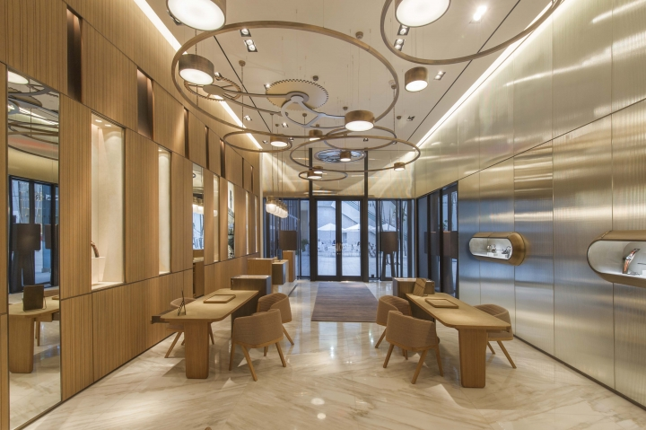 The Panerai boutique Miami design by Patricia Urquiola