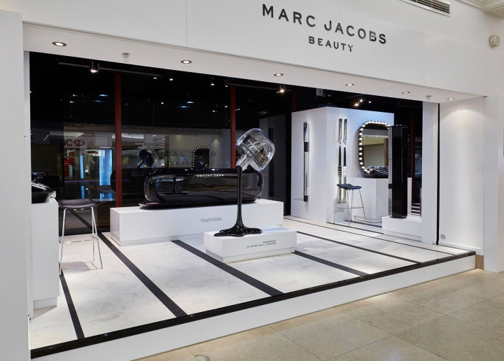 Marc Jacobs Beauty x Harrods London by Harlequin Design