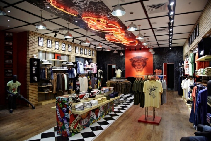 Ed Hardy store in Bangalore India by Restore Solutions
