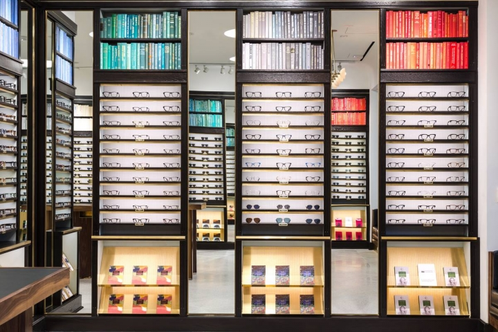 Warby Parker eye wear store in San Jose, USA