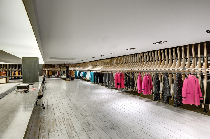 VIGOSS Textile - Showroom and Design Office-  Zemberek Design