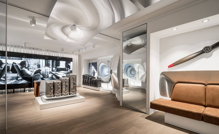 Rimowa first concept store in London