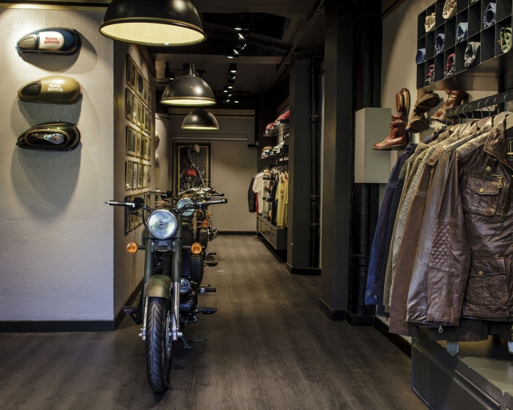 Royal Enfield exclusive concept store In Paris