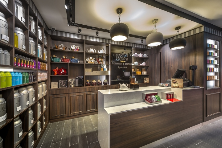 Betjeman & Barton Tea Boutique by iRetail Interior Design, Singapore