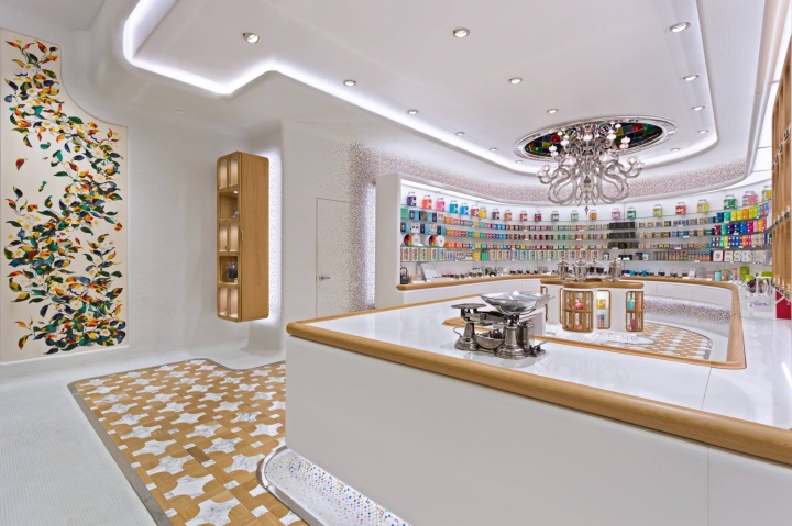 Kusmi Tea Paris flagship stores by Christopher Jenner